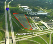 9 ACRES, I-95 FRONTAGE AT FORT PIERCE