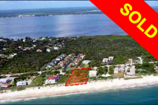 MELBOURNE BEACH Ocean Front Lot – SOLD