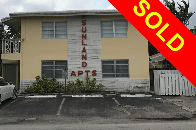 SUNLAND APARTMENTS – 604 NW 29th Drive, Wilton Manors – SOLD
