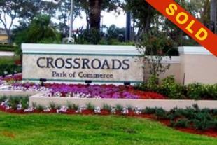 JUST SOLD:$3,920,000 FT. PIERCE,FLORIDA CROSSROADS PARK OF COMMERCE LOTS #: 12,13,14,15,& 16 12.7 ACRES (553,747 S.F.)