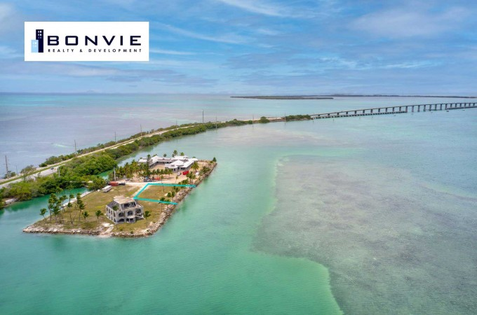 CRAIG KEY MM72 12,000 S.F. DIRECT BAY FRONT LOT ON PRIVATE ISLAND   $5,995,000